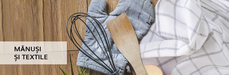 Mănuși, textile, șorțuri