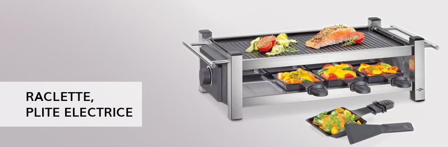 Raclette, plite electrice