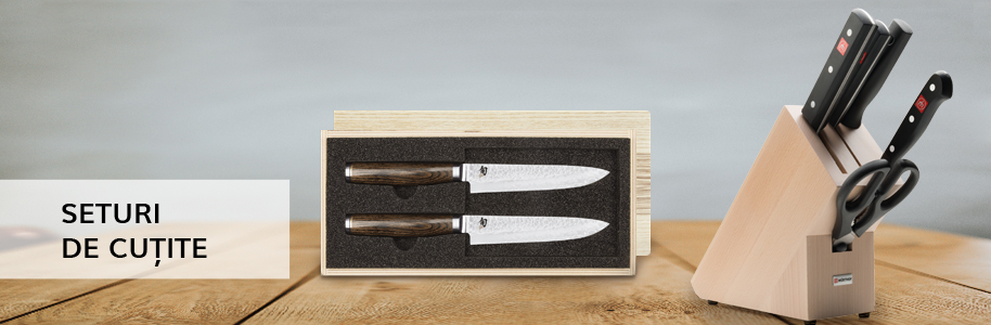 Blocuri si seturi de cuțite