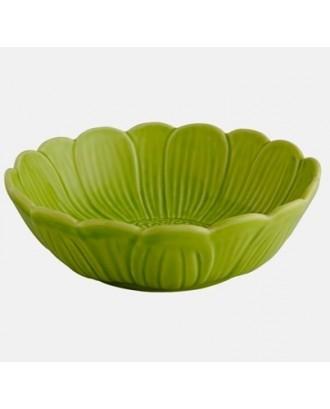 Bol mediu 19 cm, nufar verde - Bordallo Pinheiro