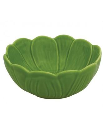 Bol mare 25 cm, nufar verde - Bordallo Pinheiro