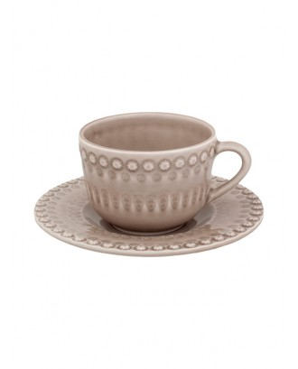 Set bej pentru ceai, Fantasy - Bordallo Pinheiro