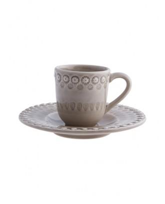 Set bej pentru cafea, Fantasy - Bordallo Pinheiro