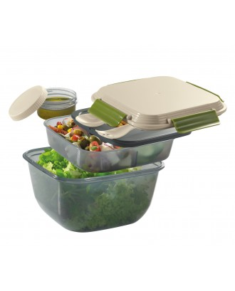 Cutie pentru alimente, plastic, 18 x 18 cm, model Fresh - CILIO