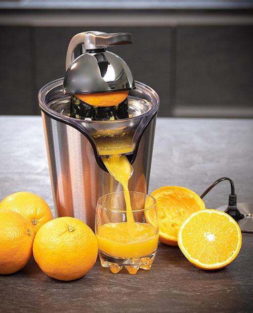 Storcator electric de citrice, inox, 100 wati, model Portofino - CILIO