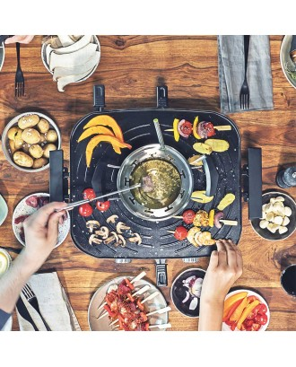 Set raclette si fondue, Family and friends - GASTROBACK