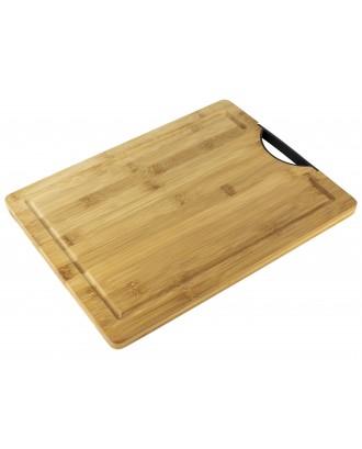 Tocator din lemn de bambus, 38,5x28,5 cm - Simona's COOKSHOP