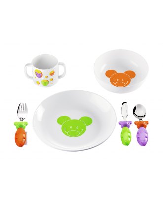 Set pentru masa pentru copii, multicolor, colectia Bimbi - GUZZINI