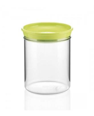 Borcan cu capac verde, 1000 ml, colectia Forme Casa - GUZZINI