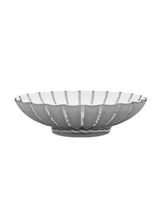Bol pentru fructe, argintiu, din acril, 30x37 cm, colectia Grace - GUZZINI