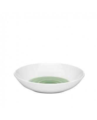 Farfurie pentru supa, model verde, Holly - Guzzini