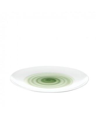 Farfurie pentru cina, model verde, Holly - Guzzini