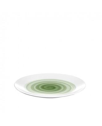 Farfurie pentru desert, model verde, Holly - Guzzini