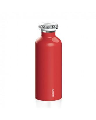 Sticla izoterma din inox, 500 ml, rosu , colectia On the Go - GUZZINI