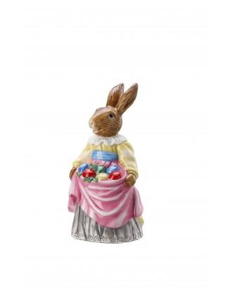 Decoratiune din portelan pentru Paste, model doamna Iepure - HUTSCHENREUTHER