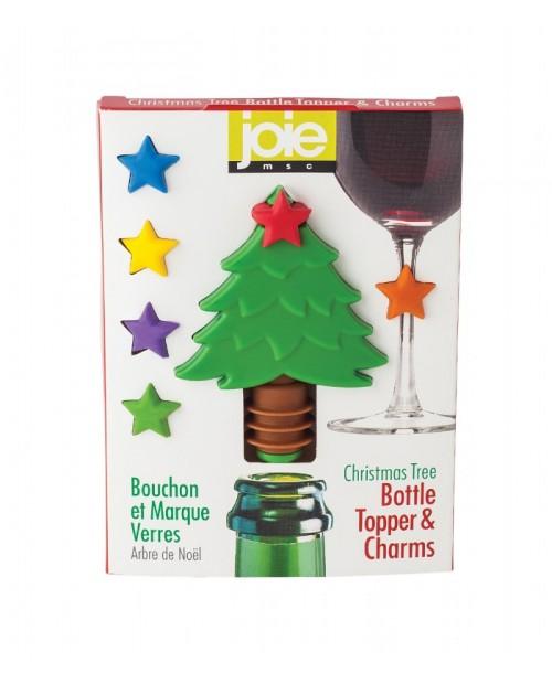 Dop pentru sticla si accesorii pahare, X-MAS - Joie