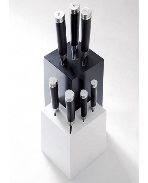 Bloc pentru cutite dublu, forma L, Michel Bras - KAI