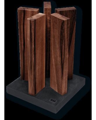 Suport magnetic pentru 10 cutite Stonehenge - KAI