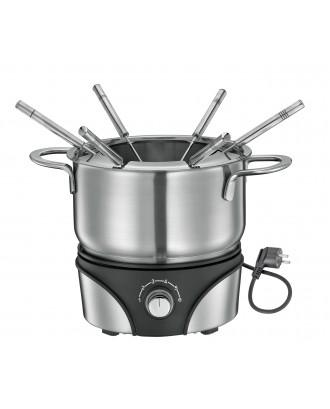 Set fondue electric, 1.5 litri, 6 furculite, model Geneva - KUCHENPROFI