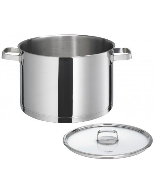 Oala pentru supa, inox, cu capac, 9 litri, colectia San Remo Cook - KUCHENPROFI