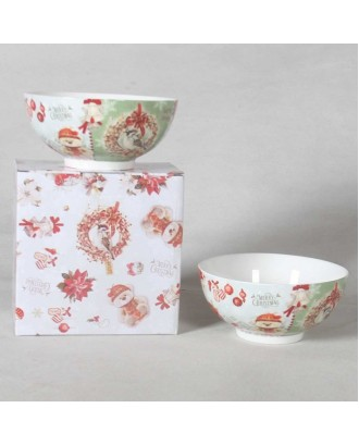 Set 2 boluri din ceramica Teddy Bear, 15,2 x 7 cm. - SIMONA'S COOKSHOP
