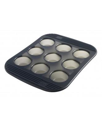 Tava pentru 9 mini-tarte, silicon - MASTRAD