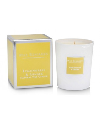 Lumanare parfumata, 125 g, Lemongrass Ginger - MAX BENJAMIN