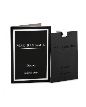 Card parfumat, Dodici - MAX BENJAMIN