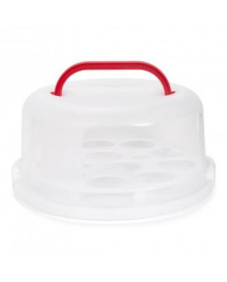 Suport cu cloche pentru transportul prajiturilor - Patisse