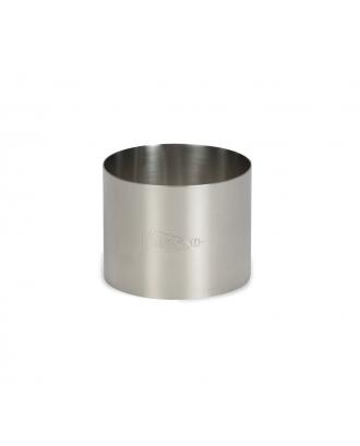 Inel rotund pentru ornat, 7 cm, inox - PATISSE