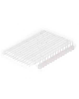 12 lumanari pentru tort, albe, 14 cm - PATISSE