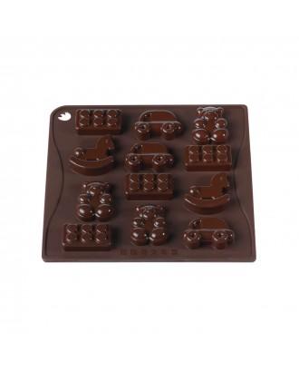 Forma ciocolata, modele jucarii, silicon platinic - PAVONI