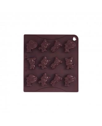 Forma ciocolata, modele catei, silicon platinic - PAVONI