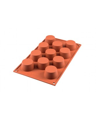 Forma mini briose Terracotta - Silikomart