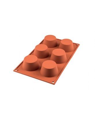 Forma briose medii, Terracotta - Silikomart