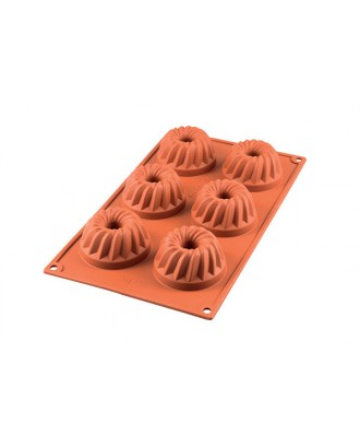 Forma din silicon pentru prajituri Gugelhopf - Silikomart