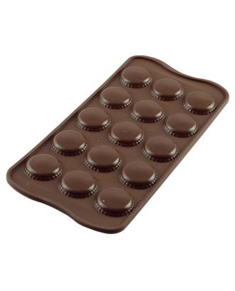 Forma ciocolata, Macaron Choc - SILIKOMART