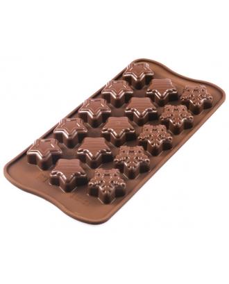 Forma ciocolata Winter Stars - SILIKOMART