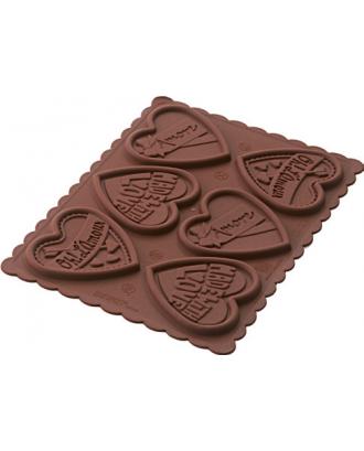 Stampila pentru biscuiti, Cookie Love - SILIKOMART