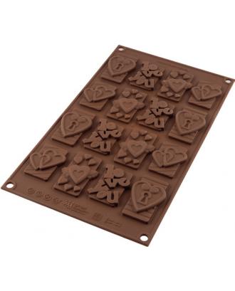 Forma ciocolata, simboluri de iubire - SILIKOMART