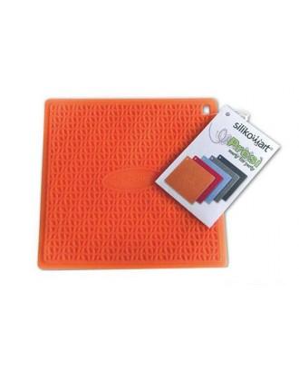 Suport din silicon pentru oala/ibric, portocaliu - SILIKOMART