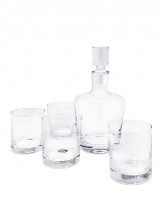Set whisky: decantor si 4 pahare - VIN BOUQUET