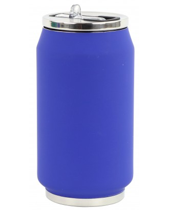 Cutie izoterma cu pai, 280ml, model bleu nuit - YOKO