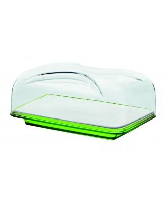 Guzzini Bolli vas rectangular branza, verde