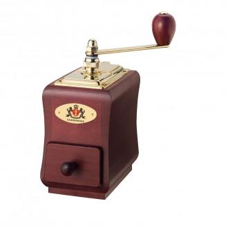 Rasnita manuala de cafea, lemn de fag, model Santiago - ZASSENHAUS