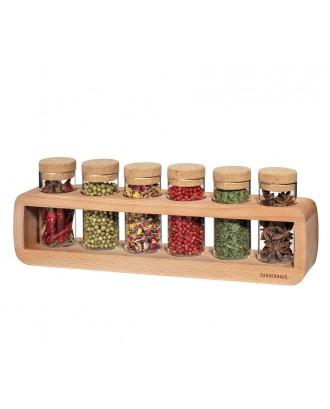 Zassenhaus Suport pentru 6 recipiente mirodenii