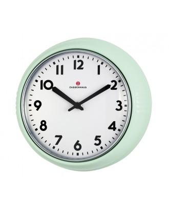 Ceas de perete, verde, 24 cm - ZASSENHAUS