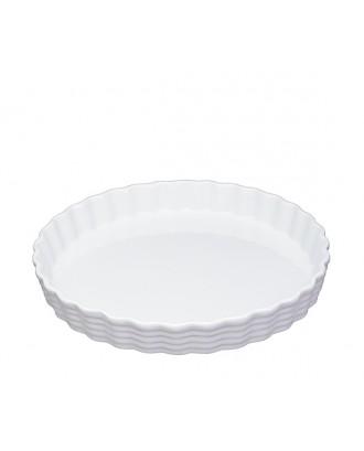 Forma pentru prajitura, 28 cm, portelan alb - KUCHENPROFI