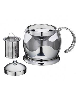 Ceainic cu infuzor, 1250 ml, Earl Gray - KUCHENPROFI