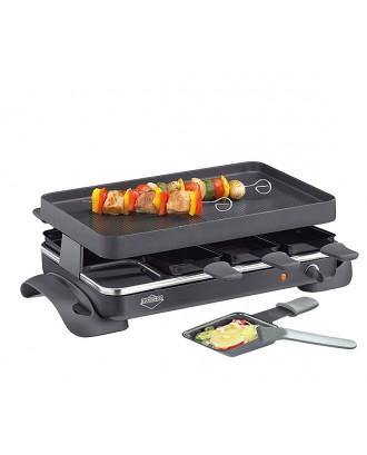 Gratar electric cu 8 raclette, model Grande - KUCHENPROFI